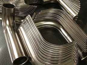 Shields for tubing assemblies. Formed. Swedged. Bent. Rolled.